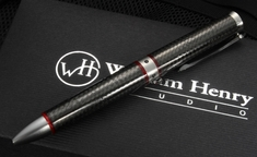 William Henry TW1 1208 Chablis - Carbon Fiber Twist Pen
