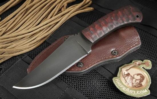 Winkler Belt Knife - Sculpted Maple - Caswell Finish