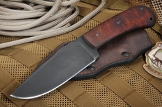Winkler Hunting Knife - Maple - Caswell Finish