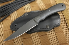 Winkler Knives Operator - Caswell and Micarta - Leather Sheath