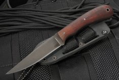 Winkler Knives Operator - Caswell Finish Maple Handle - Kydex Sheath