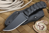 Winkler Belt Knife - Sculpted Black Micarta - KG Finish