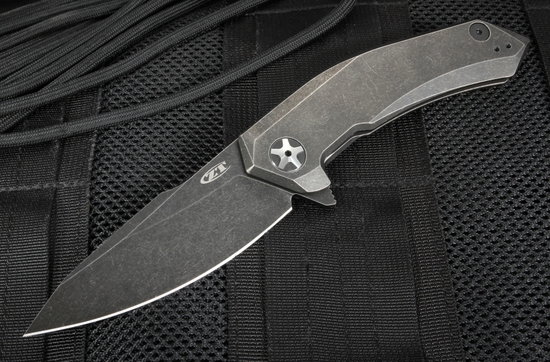 Zero Tolerance 0095BW Blackwash S35VN Steel Flipper