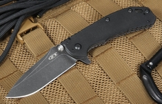 Zero Tolerance 0566BW Blackwash - Assisted Opening - S35VN Steel