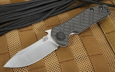 Zero Tolerance 0630CF Carbon Fiber and M390 Steel Tactical Folder