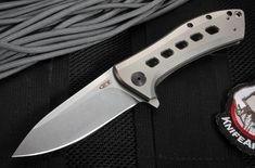 Zero Tolerance 0801Ti Rexford Design Frame Lock Flipper - S35VN Steel