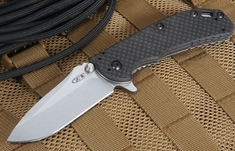 Zero Tolerance 0566CF Hinderer Design Carbon Fiber Folder with Elmax Steel
