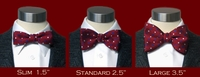 Bow Tie Sizes