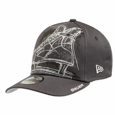 Bauer Chalk Skate New Era 39Thirty Senior Hockey Hat