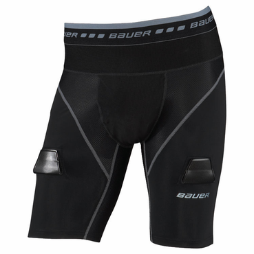 Bauer Elite Compression Lock Senior Hockey Jock Shorts