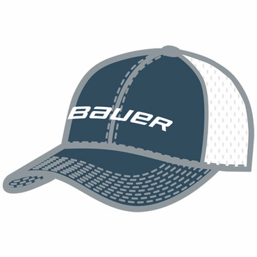 Bauer Hockey Flex Fit Mesh Back Hockey Hat