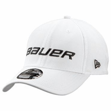 Bauer New Era 39Thirty Senior Hockey Hat - White