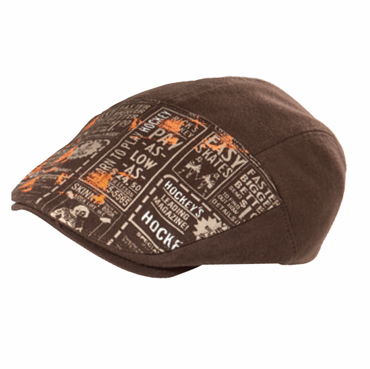 Bauer Newsprint Newsboy Senior Hockey Hat