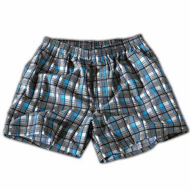 Bauer Plaid Senior Hockey Boxers - 2010