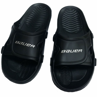Bauer Senior Hockey Shower Sandals - Black