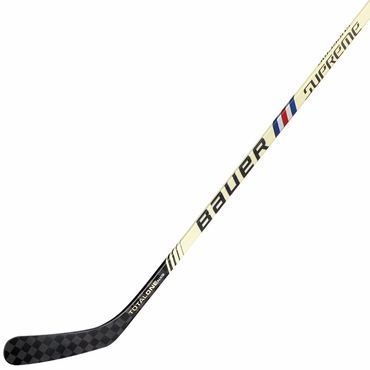 Bauer Supreme TotalONE NXG LE Vintage Senior Hockey Grip Stick - Red/Blue