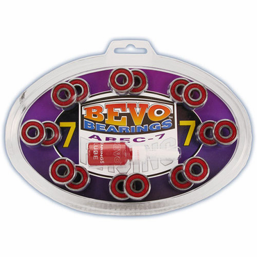 Bevo Inline Hockey Bearings - ABEC-7 - 16 Pack