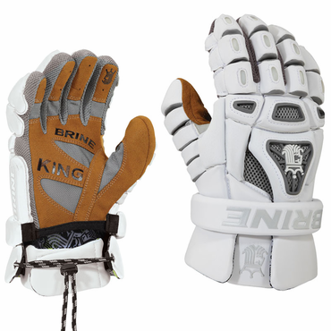 Brine King IV Lacrosse Goalie Gloves - Adult