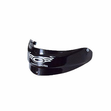 Cascade Lacrosse Goalie Throat Guard - Black - Adult