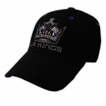 CCM 4600 1-Fit Youth Hockey Hat - Los Angeles Kings