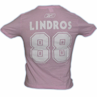 CCM 4962 Player Womens Short Sleeve Hockey Shirt - Toronto Maple Leafs - Lindros