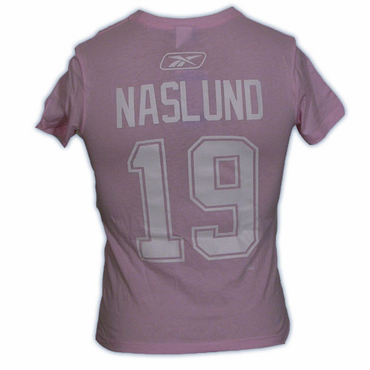 CCM 4962 Player Womens Short Sleeve Hockey Shirt - Vancouver Canucks - Naslund
