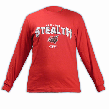 CCM 5083 Goaline Youth Long Sleeve Lacrosse Shirt - San Jose Stealth