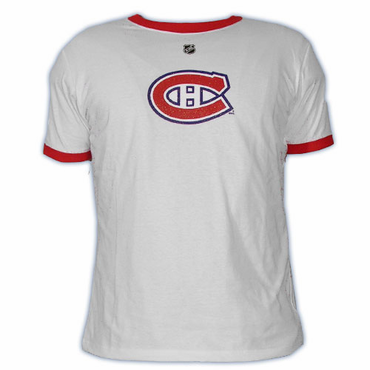 CCM 5165 Player Womens Short Sleeve Hockey Shirt - Montreal Canadiens - Koivu