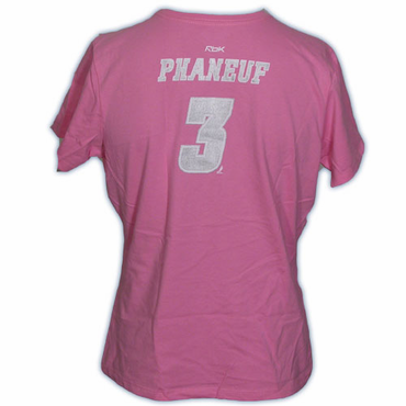 CCM 5395 Player Womens Short Sleeve Hockey Shirt - Calgary Flames - Phaneuf