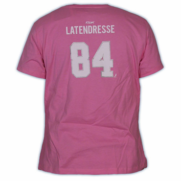 CCM 5395 Player Womens Short Sleeve Hockey Shirt - Montreal Canadiens - Latendresse