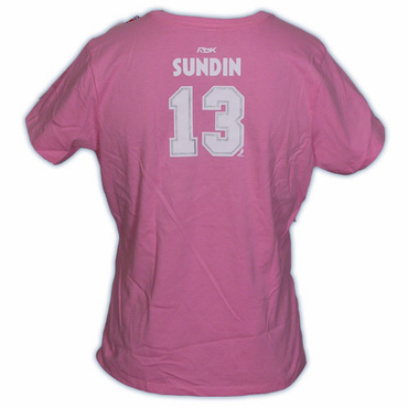 CCM 5395 Player Womens Short Sleeve Hockey Shirt - Toronto Maple Leafs - Sundin