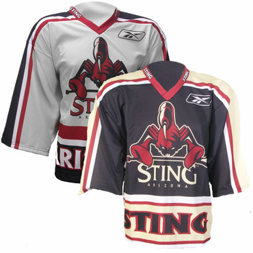 CCM 550 Senior Replica Lacrosse Jersey - Arizona Sting