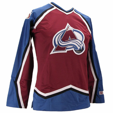 CCM 550 Womens Replica Hockey Jersey - Colorado Avalanche