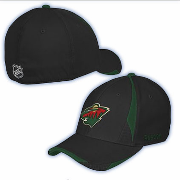 CCM CTN14Z Second Season Senior Hockey Hat - Minnesota Wild