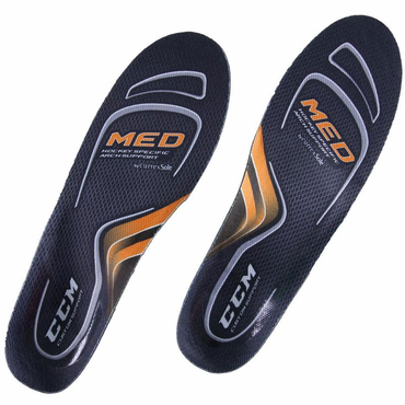 CCM Custom Support Hockey Skate Insoles - Medium Arch