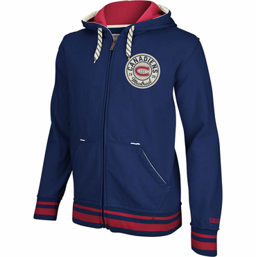 CCM Full Zip Senior Hoodie - Montreal Canadiens