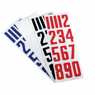 CCM Hockey Helmet Number Stickers