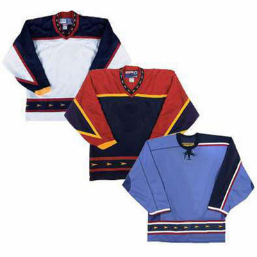 CCM/KOHO 15000 Junior NHL Gamewear Hockey Jersey - Atlanta Thrashers