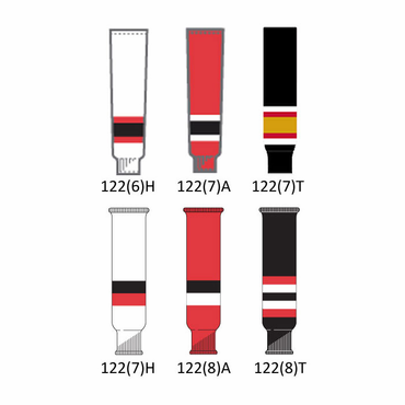 CCM NHL Team Junior Hockey Socks - Ottawa Senators