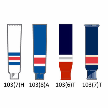 CCM NHL Team Senior Hockey Socks - New York Rangers