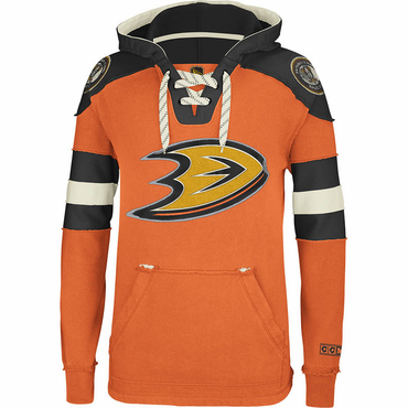 CCM Pullover Senior Hockey Hoody - Anaheim Ducks