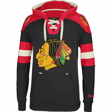 CCM Pullover Senior Hockey Hoody - Chicago Blackhawks