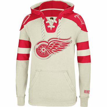 CCM Pullover Senior Hockey Hoody - Detroit Red Wings