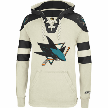 CCM Pullover Senior Hockey Hoody - San Jose Sharks