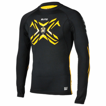 Elite Compression Youth Long Sleeve Performance Hockey Shirt