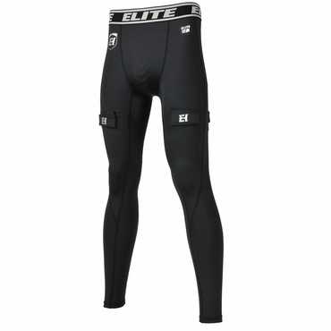 Elite Compression Senior Performance Hockey Jock Pants - w/ Cup