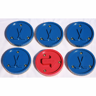 EZ Puck Hockey Puck Set - 6 Pack