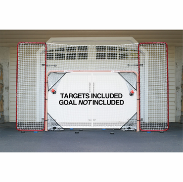 EZGoal 65121 Hockey Backstop w/ Shooting Targets