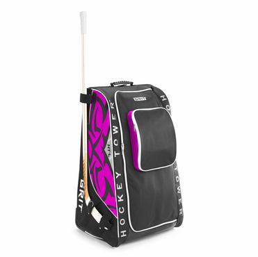 Grit HTSE Tower Wheeled Hockey Bag - 36 Inch - Diva