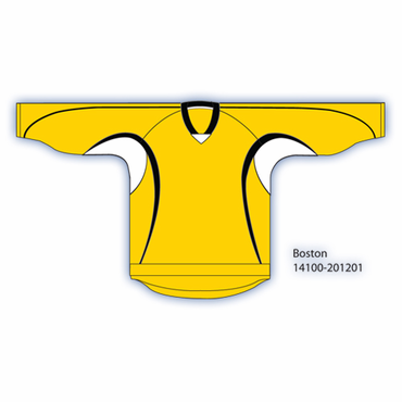 Kamazu 14100 Flexx Lite Team Senior Hockey Jersey - Boston Bruins